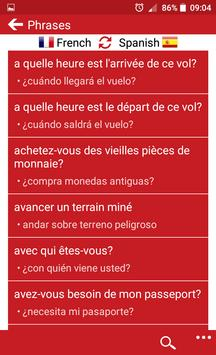 French - Spanish screenshot 2