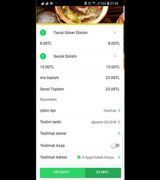 Efsane Akçaabat Köfte Ve Döner - Yemek Siparişi screenshot 5