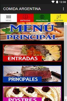 Comida Argentina poster