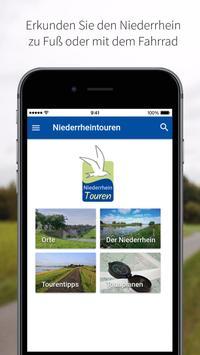 Niederrheintouren poster