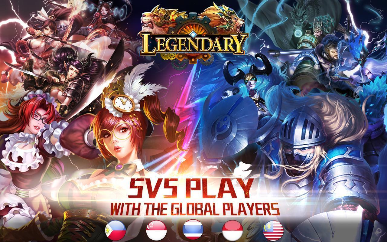 Legendary-5v5 MOBA game bài đăng ...