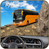 crazy adventure bus driving game icon