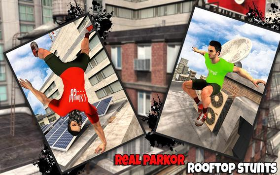 Freestyle parkour 3D: Fast Run screenshot 5