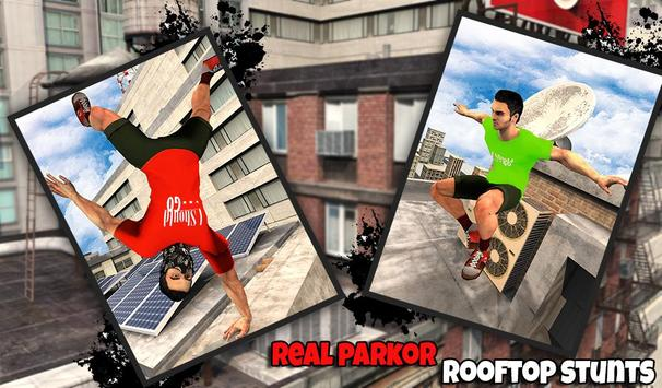 Freestyle parkour 3D: Fast Run screenshot 9