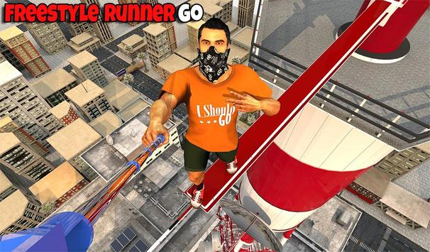Freestyle parkour 3D: Fast Run poster