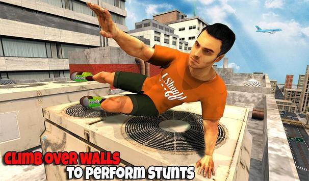 Freestyle parkour 3D: Fast Run screenshot 10