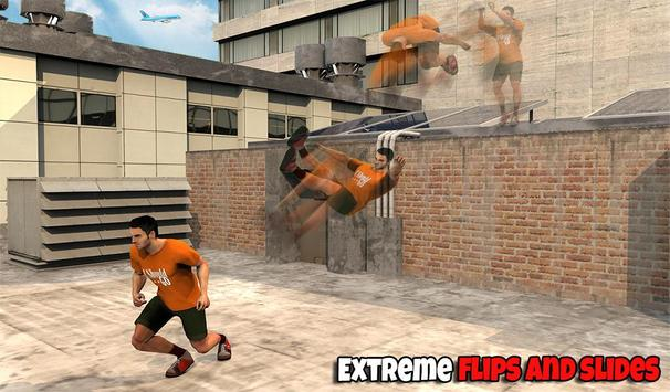 Freestyle parkour 3D: Fast Run screenshot 11