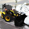 Снег тяжелый экскаватор спасательный кран: дорога иконка