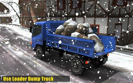 Clean Road 3D Snow Heavy Excavator Crane Rescue screenshot 5