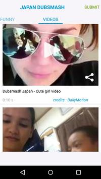 Videos for Dubsmash Japan screenshot 1