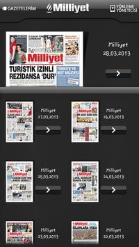 Milliyet Gazete poster
