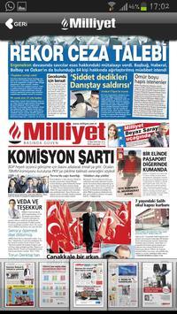Milliyet Gazete screenshot 1