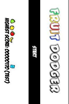 Fruit Dodger FREE poster