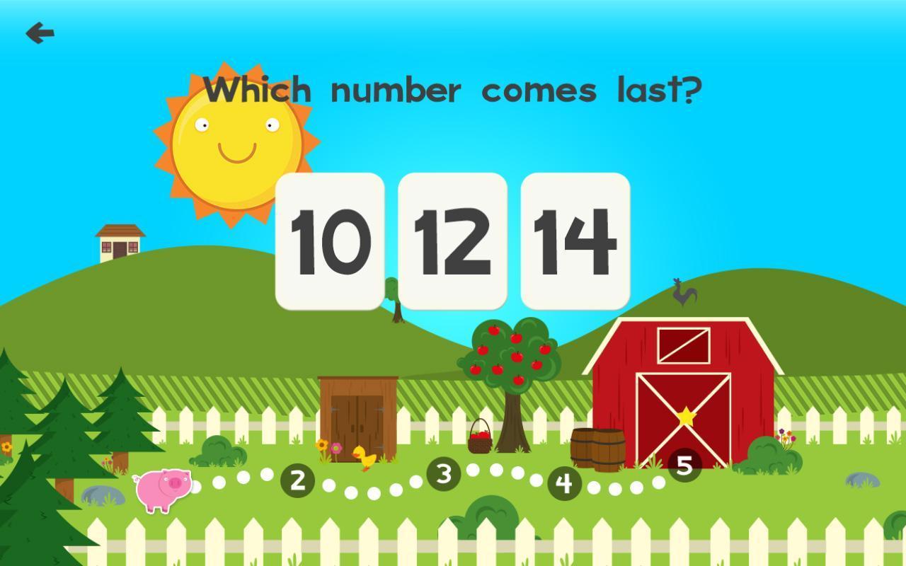 Animal Math Games for Kids in Pre-K & Kindergarten APK Download ...