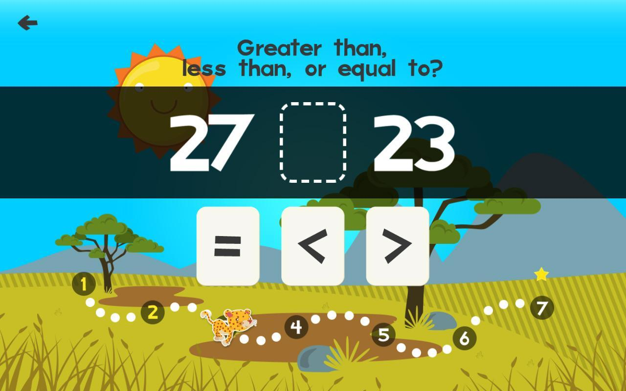 Animal Math First Grade Math Games for Kids Math APK Download - Free ...
