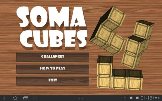 Soma Cubes poster