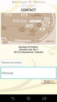 Boutique Saint Sophia poster