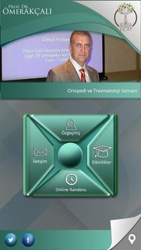 Prof. Dr. Ömer Akçalı poster