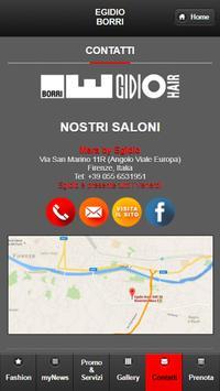 Egidio Borri Hairstylist apk screenshot