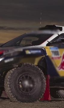 Jigsaw Puzzle Dakar Car Class poster
