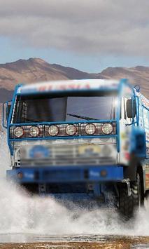 Jigsaw Puzzle Dakar Kamaz Truck poster