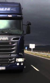 Jigsaw Puzzle Scania Best Truck poster