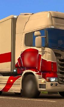 Jigsaw Puzzle Scania Best Truck apk screenshot