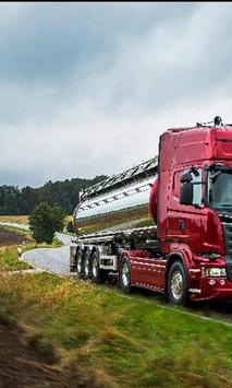Jigsaw Puzzle Scania Best Trucks poster