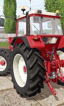 Jigsaw Puzzles Tractor CaseIH Best poster