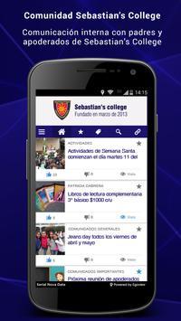 Sebastian´s College Mobile poster