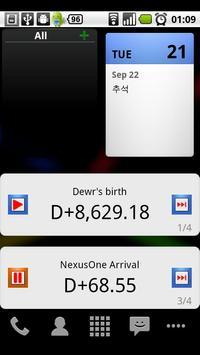 D-Day Counter 4Google Calendar apk screenshot