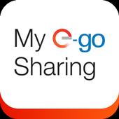 My E-GO Sharing icon