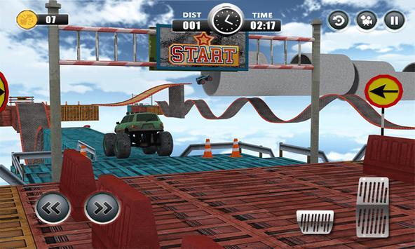 Impossible Track Racing : Car Crash Stunts Failure poster