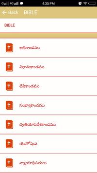 Telugu Bible apk screenshot