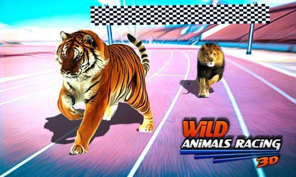 Wild Animals Racing 3D poster