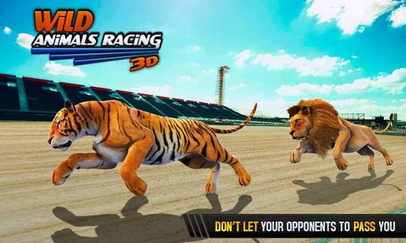 Wild Animals Racing 3D screenshot 1