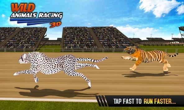 Wild Animals Racing 3D screenshot 2