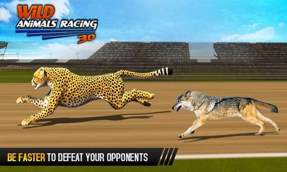 Wild Animals Racing 3D screenshot 3