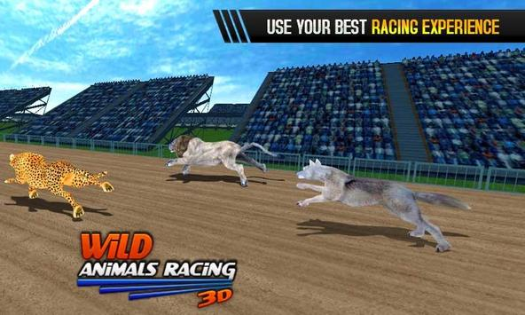 Wild Animals Racing 3D screenshot 4