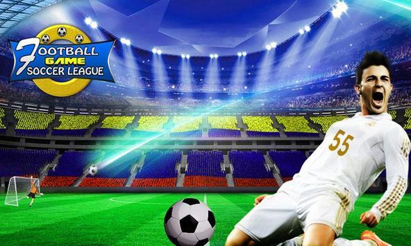 Football Soccer League-KickBall Champion Strike poster