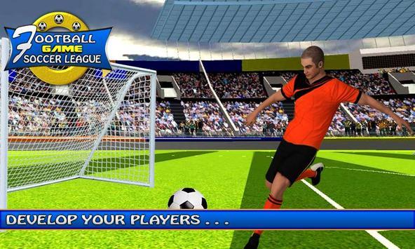 Football Soccer League-KickBall Champion Strike screenshot 25