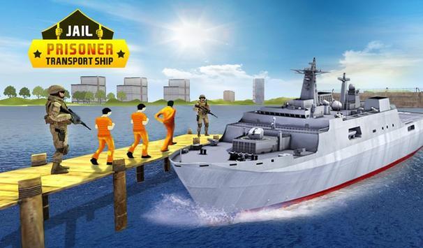 Jail Criminals-Prison Transport Sea Ship poster