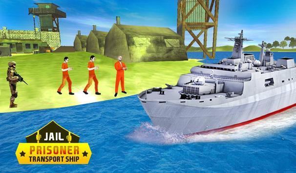 Jail Criminals-Prison Transport Sea Ship apk screenshot