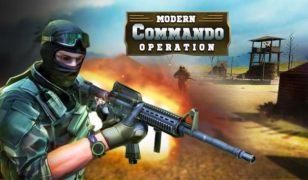 Modern Commando War Operation poster