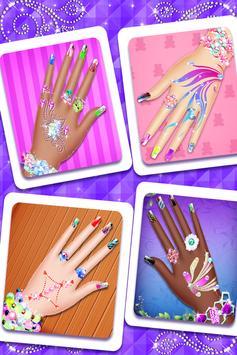 Nail Paint Salon Makeover : Girls Fashion Game screenshot 4