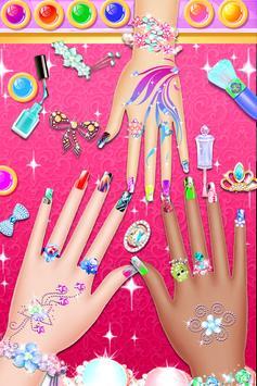 Nail Paint Salon Makeover : Girls Fashion Game screenshot 11