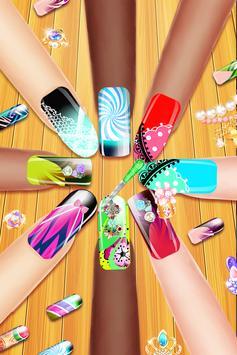 Nail Paint Salon Makeover : Girls Fashion Game screenshot 12