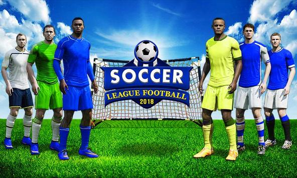 Real Soccer League 2018:Football Worldcup Game screenshot 12
