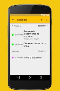 Agenda screenshot 4
