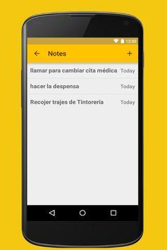 Agenda screenshot 7
